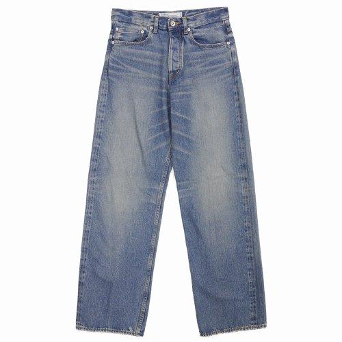 """他の写真1: DAIRIKU/""""Straight"""" Denim Pants(インディゴ)[ストレートデニムパンツ-21秋冬]"""