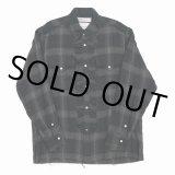 DAIRIKU/Dallas Triple Gauze Frill Check Shirt(ナイト)[トリプルガーゼフリルチェックシャツ-21秋冬]