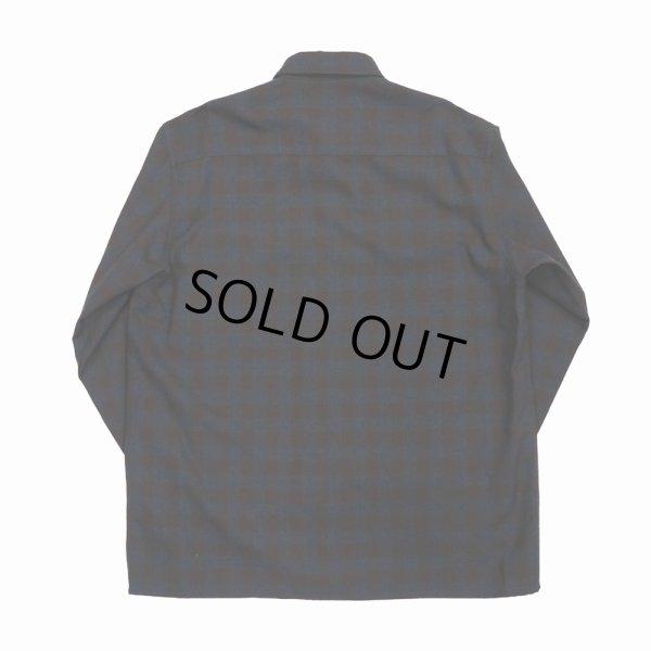 """画像2: DAIRIKU/""""Emilio"""" Wool Shirt with Money Clip(チェック)[ウールシャツwithマネークリップ-21秋冬]"""