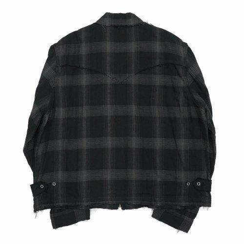 他の写真2: DAIRIKU/Dallas Triple Gauze Check Work Jacket(ナイト)[トリプルガーゼチェックワークJKT-21秋冬]
