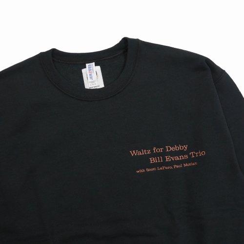 他の写真3: WACKO MARIA/BILL EVANS / SWEAT SHIRT(TYPE-5)(ブラック)[クルーネックスウェット-21秋冬]