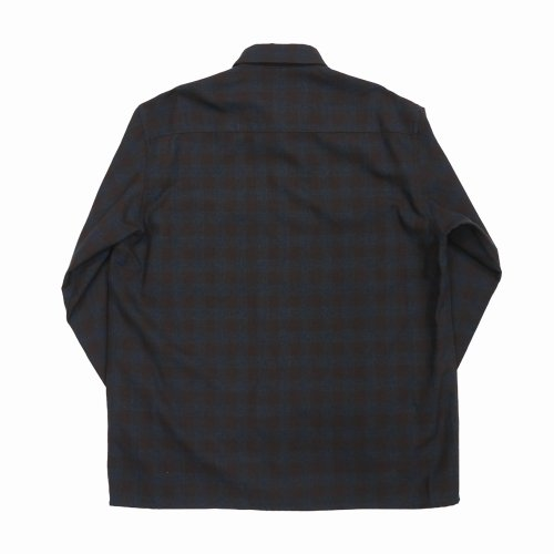"""他の写真2: DAIRIKU/""""Emilio"""" Wool Shirt with Money Clip(チェック)[ウールシャツwithマネークリップ-21秋冬]"""