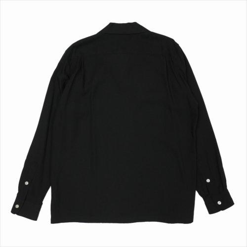 他の写真2: WACKO MARIA/50'S SHIRT L/S(ブラック)[50'Sシャツ-21秋冬]