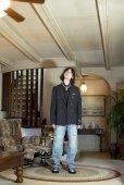 """画像5: DAIRIKU/""""Emilio"""" Wool Shirt with Money Clip(チェック)[ウールシャツwithマネークリップ-21秋冬] (5)"""
