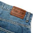 画像6: CALEE/Vintage reproduct tapered used denim pants(ユーズドインディゴブルー)[テーパードユーズドデニムパンツ-21秋冬]