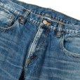 画像3: CALEE/Vintage reproduct tapered used denim pants(ユーズドインディゴブルー)[テーパードユーズドデニムパンツ-21秋冬]