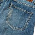 画像7: CALEE/Vintage reproduct tapered used denim pants(ユーズドインディゴブルー)[テーパードユーズドデニムパンツ-21秋冬]