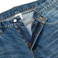 画像4: CALEE/Vintage reproduct tapered used denim pants(ユーズドインディゴブルー)[テーパードユーズドデニムパンツ-21秋冬]