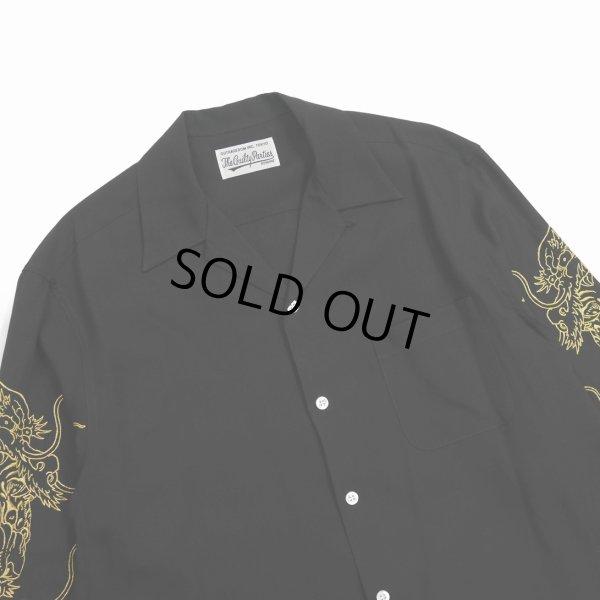 画像4: WACKO MARIA/TIM LEHI / 50'S SHIRT L/S(ブラック)[50'Sシャツ-21秋冬]