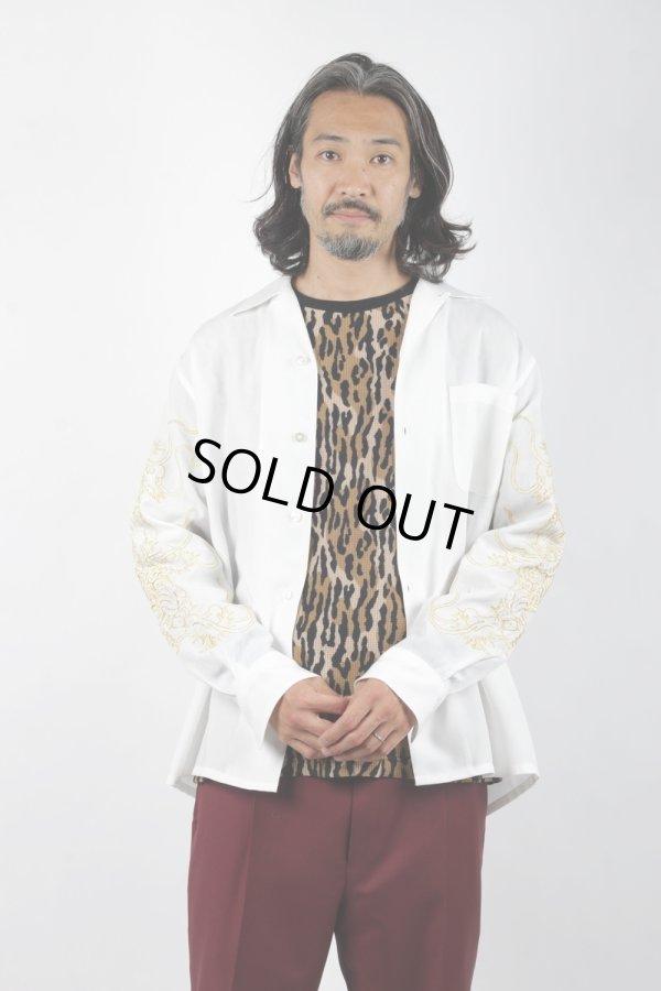 画像5: WACKO MARIA/TIM LEHI / 50'S SHIRT L/S(ブラック)[50'Sシャツ-21秋冬]