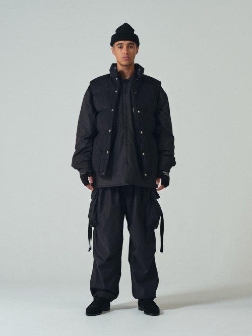 他の写真3: COOTIE/Fake Suede Down Vest(ブラック)[フェイクスウェードダウンベスト-21秋冬]