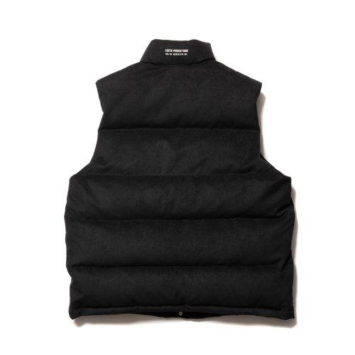 他の写真2: COOTIE/Fake Suede Down Vest(ブラック)[フェイクスウェードダウンベスト-21秋冬]