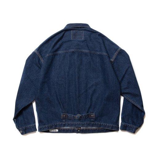 他の写真2: COOTIE/1st Type Denim Jacket(インディゴフェード)[ファーストタイプデニムJKT-21秋冬]