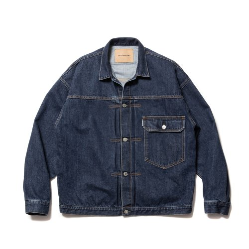 他の写真1: COOTIE/1st Type Denim Jacket(インディゴフェード)[ファーストタイプデニムJKT-21秋冬]